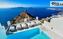 Романтичен септември на остров Санторини! 4 нощувки със закуски в Sunny Villas + самолетен билет и летищни такси, от Солвекс