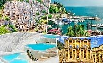Самолетна екскурзия до Ликийското крайбрежие: Анталия, Мира, Кушадасъ, Ефес, Памуккале, Хераполис. 7 нощувки на човек със закуски и вечери + входни такси от Премио Травел