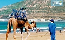 Самолетна екскурзия до Мароко, с Караджъ Турс, дата по избор! Билет, летищни такси, трансфери, 7 нощувки със закуски и вечери в хотели 4*, водач и програма