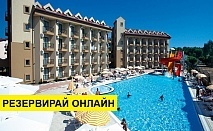 Самолетна почивка в Турция! 7 нощувки на човек на база Ultra all inclusive във Victory Resort 5*, Сиде, Турска ривиера с двупосочен чартърен полет от София