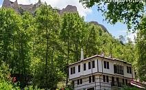 20 - 24 Септември в Мелник! 2 нощувки със закуски и вечеря за ДВАМА или ЧЕТИРИМА в хотел Речен Рай