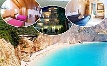 Септември и oктомври на о. Лефкада, Гърция! Нощувка за двама, трима или четирима в хотел Филоксения, с.Тсукаладес