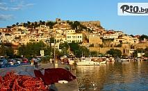 Септемврийски празници в Гърция! 3 нощувки със закуски в хотел Нефели, Кавала + автобусен транспорт, екскурзовод и възможност за посещение на Керамоти и Тасос, от Еко Тур Къмпани