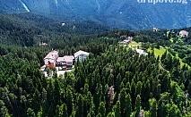 Ски уикенд в Паничище! Нощувка със закуска и вечеря + джакузи и релакс зона само за 35 лв. в хотел Планински езера
