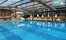 Студентски празник в СПА хотел Елбрус 3*, Велинград! 2 нощувки със закуски, една стандартна и една Празнична вечеря с DJ парти, ползване на минерални басейни, външно джакузи с хидромасажна зона, сауна и парна баня!