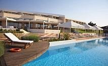 Thraki Palace hotel, на брега на морето с уникален изглед към Егейско море и о-в Самотраки,  шезлонги и чадъри безплатно на крайбрежния плаж за една нощувка и закуска / 01.06.2017 - 25.06.2017