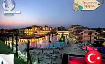 НГ, Турция, Сиде: 4 нощувки, all inclusive, 5*, транспорт, шоу програма, 445лв/човек