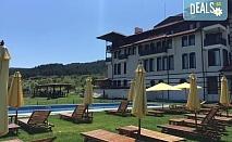 Уикенд почивка през юни в Хотел Орбел 4* в Добринище! Нощувка със закуска и вечеря, ползване на минерален басейн, джакузи и сауна, безплатно за дете до 5.99 г.