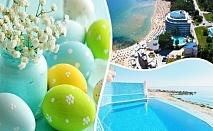 Великден или Майски празници в хотел Сириус Бийч**** Константин и Елена! 3 или 4 нощувки на човек на база All inclusive + басейни, СПА. Дете до 12г. на допълнително легло- БЕЗПЛАТНО