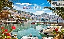 Великден в Саранда, Албания! 5 нощувки със закуски и вечери + напитки в Хотел Vola 3* и възможност за екскурзия до о. Корфу и автобусен транспорт, от Делта Турс