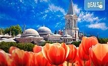 Вижте приказния Фестивал на лалето в Истанбул през пролетта! 2 нощувки със закуски, транспорт, екскурзовод и посещение на църквата
