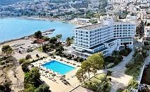 Юни на първа линия в Lucy Hotel*****  в Кавала, Гърция – Нощувка със закуска или закуска и вечеря + басейн!