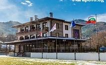 Заповадайте в НОВООТКРИТИЯ Mentor Resort до Гоце Делчев. Нощувка със закуска и вечеря + СПА за 36 лв