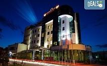 """Златна есен в Diplomat Plaza Hotel & Resort, Луковит! 1 нощувка със закуска  в двойна стандартна стая, СПА пакет, офроуд разходка до пещера """"Проходна"""", безплатно настаняване на дете до 6г."""
