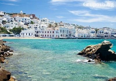 Екскурзия до о-в Миконос, Гърция през Септември и Октомври от Лъки Холидей! Транспорт и 5 нощувки със закуски на цени от 765 лв.