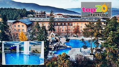 5* Есен! Нощувка със закуска и вечеря + Минерални басейни и СПА пакет в СПА Хотел Двореца 5*, Велинград, на цени от 62.50 лв. на човек