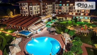 Есенна релаксираща почивка край Банско! Нощувка на база All Inclusive + басейни и СПА, от Мурите клуб хотел 4*