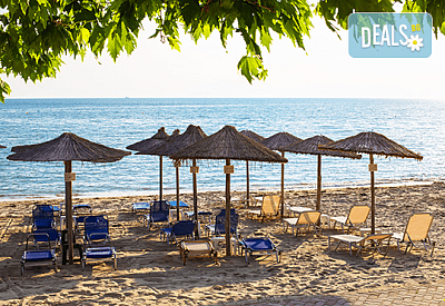 Лятна почивка през август и септември в Гъция, Паралия Катерини, с Глобус Турс! Hotel Souita 3*, 5 нощувки със закуски и вечери, транспорт и водач