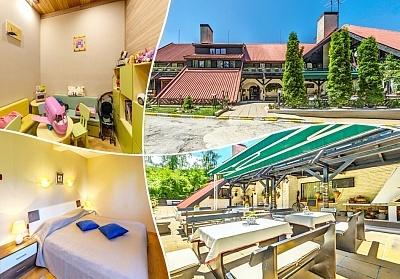 Нощувка на човек със закуска и вечеря* + сауна в хотел Бреза*** Боровец