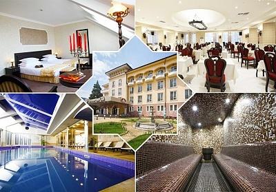 Почивка в Кюстендил! Нощувка на човек със закуска и вечеря + басейн и СПА с МИНЕРАЛНА вода от СПА хотел Стримон Гардън*****
