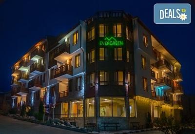 Прохладно лято в Апартхотел Евъргрийн хотел 3*,Банско! Нощувка на база All inclusive в апартамент, ползване на зона за релакс и външен басейн, безплатно за първо дете до 11.99 г
