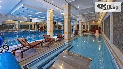 СПА почивка в Банско през Януари! Нощувка със закуска + вътрешен топъл басейн, джакузи, сауна, солна стая и релакс зона, от 7 Pools Boutique Hotel andamp;SPA