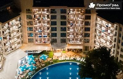 Специална оферта за Престиж Хотел и Аквапарк, Златни пясъци. Нощувка на човек с изхранване all inclusive